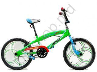 Bicicleta Racer BMX 20 Green Livrarea gratis !!!