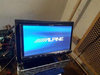 2din Alpine original + 2монитора alpine