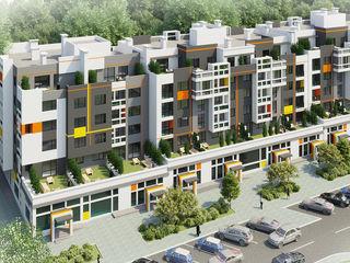Apartament cu 2 camere cu living în Orhei (Dansicons) direct de la dezvoltatori, fără intermedieri