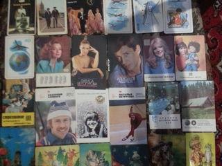 Календарики более 1000 шт.