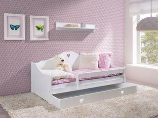 Patuc din lemn. Кроватка из натурального дерева.