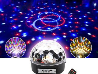 LED Music Ball USB, Bluetooth! Дискотека у себя дома! Супер цена!