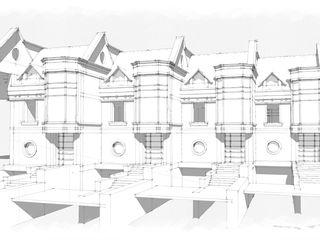 Proiectare case de tip duplex si tawnhouse,Проектирование дуплексов и таунхасов