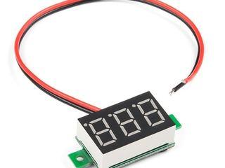 LED Voltmeter, пост карта, usb tester
