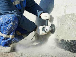 Шлифовка неровностей бетона полотно из бетонной смеси