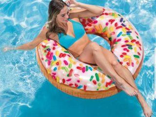 Надувные аксессуары для бассейна (пончики, единороги, фламинго, арбузик)