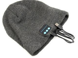 Caciula cu casti stereo Bluetooth!
