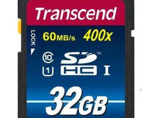 Transcend SDHC 32 GB UHS-I. Garanţie 99 luni!