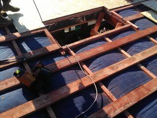 Устройство пола в чердачных помещениях Устройство перекрытия по деревянным балкам