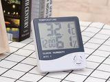 Термогигрометр (часы, будильник, термометр, гигрометр)