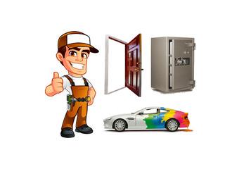 Serviciul de urgență. Deblocarea Schimbarea Instalarea Repararea încuietorilor. Usi. Auto. Safeul.