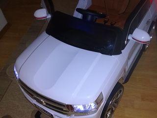 Лучшее Детям/Toyota White Chrome Sport! 2х -месный