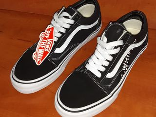 Vans Old Skool x Supreme Black unisex