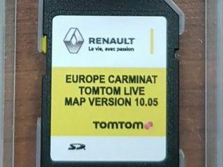 Карта Renault Carminat LIVE