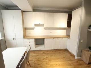 Nou - reparatie de calitate - 2 dormitoare +living cu bucatarie !!!