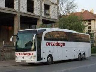 Пассажирские перевозки в Турцию 70 euro в обе стороны