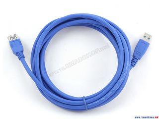 Кабель USB 3.0-USB 3.0 Gembird  CCP-USB3-AMAF-10 Blue