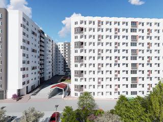 Apartament spațios cu reparație în bloc nou, 2 odăi + living.