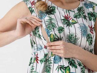 Платье для беременных и кормящих мам б/у