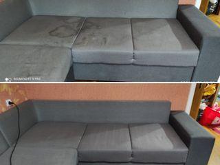 Чистка мягкой мебели и чистка ковров, самая низкая цена у нас!
