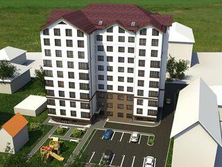 490€/m ultimul preț! apartament cu 1 camera,or. ialoveni, bloc nou!super preț!