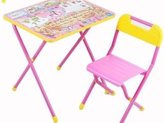 Детские парты, письменные столы. Доставка по всей Молдове.