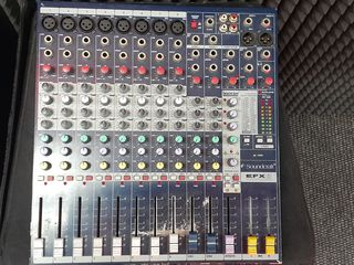Se vinde mixer pasiv Soundcraft EFX 8