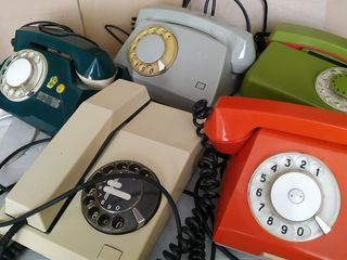 Телефонные аппараты СССР.
