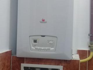 Cazane pe gaz ,Boilere Electrice Gazovie Kolonki deservire montare toate tipurile de retele termice