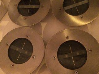 Напольные, уличные, светильники ,    на дневном аккумуляторе    4 шт .