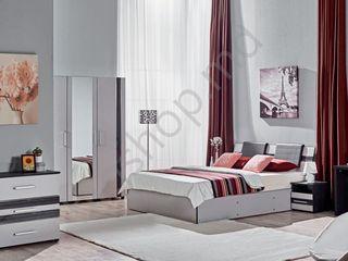 Dormitor Ambianta Fenix (Gri) - la cel mai avantajos pret si cu livrare gratuita!