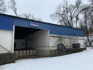 Clădire de producere cu utilaj tehnologic de prelucrare cărnii și peștelui