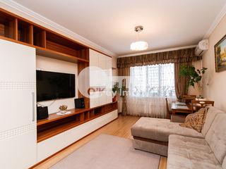Apartament  2 camere+living, 82 mp, Buiucani 80900 €