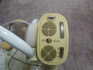 Leagăn electric pentru copii, BREVI