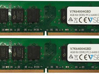 Модуль памяти DIMM 4 ГБ DDR2 PC2-6400 800 МГц V7K64004GBD