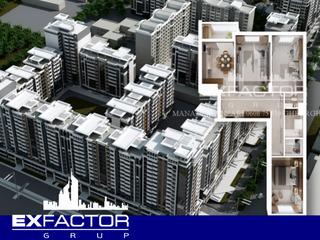 Exfactor Grup - Ciocana, toate planificările cu 3 camere in format 3D, la cel mai bun preț!