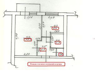 Продам 1-комнатную центр (орион)к.либкнехта 180.не риэлтор!!