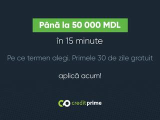 Credit până la 50000 MDL în 15 minute - primele 30 de zile gratuit
