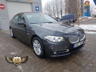 Аренда автомобилей BMW 5 F10. Новые машины 2016-2018. Цены от 25 евро.