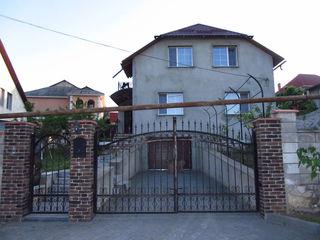 новый 2-ух этажный котельцовый дом 150кв.м. на 5 соток земли в Дурлешты по ул. Пэчий 16