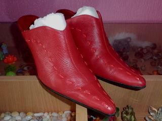 Стильные туфли из натуральной кожи!!! Размер 39.