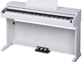 Set pian digital Thomann DP-32 WH cu 88 de clape grele, scaun si casti incluse-NOU