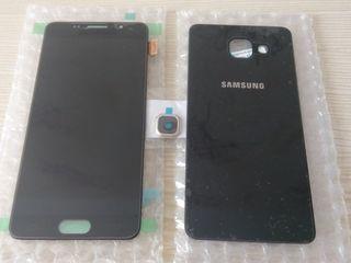 Samsung A510 display amoled+задняя панель+стекло камеры