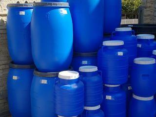 Butoaie din plastic, Cada, Bidon de la 30 litre pina la 300l, prestam servicii de livrare