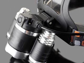 Мощный фонарь с тремя светодиодами Cree XMLT6