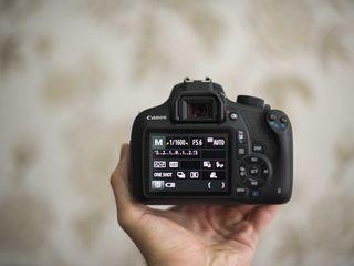 Canon 1200D (7000 de cadre) Tot setul