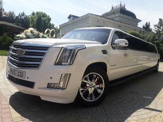 Limuzine in Chisinau Cadillac Escalade 2018,Infiniti 2018.Hummer H2  tendem