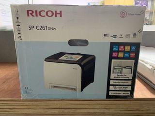 Лазерный цветной принтер Ricoh SP C261DNw - по  СУПЕР Антикризисной цене