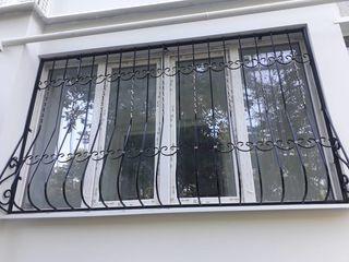 Современные Решетки на  Окна от компании Briz Moldova. Безопасность жилья пока вы отдыхаете на Море.