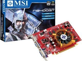 MSI nVidia GeForce 9400GT 512 MB DDR2 VGA/DVI/HDMI